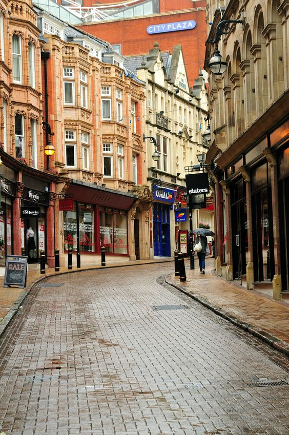 Birmingham, England - I can so see Devin and Gemma as kids walking hand in hand down this lane after school. #Player's Challenge