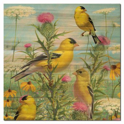 WGI GALLERY Golden Glories Painting Print Plaque Size: