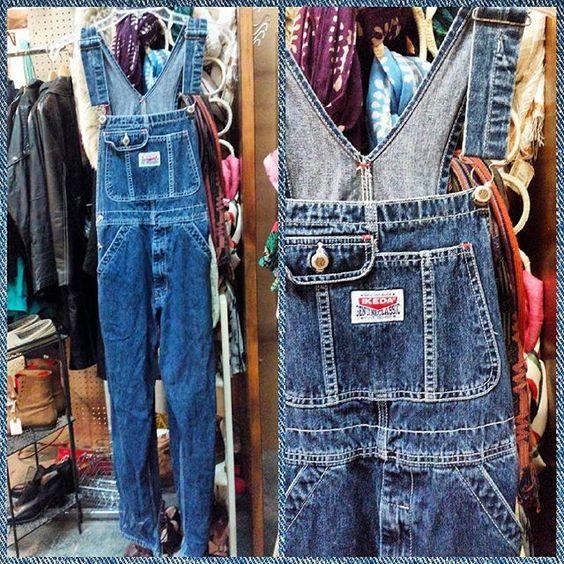 #90s #ikeda #denim #overalls Women's XS #grunge #1990s #niagarafleamarket #stcatharines #rolypolyrecords