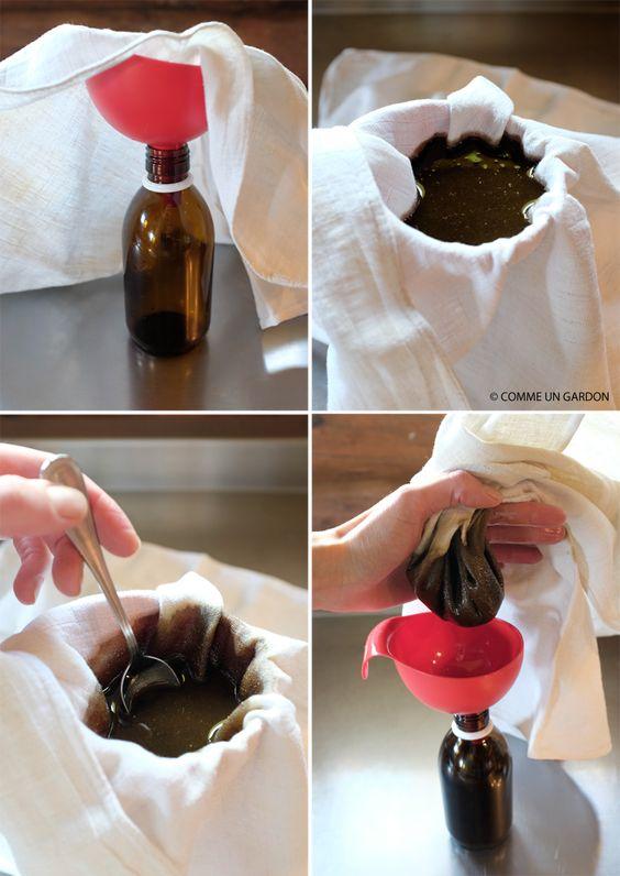 COMME UN GARDON: DIY HUILE AYURVEDIQUE POUR LES CHEVEUX macérât de plantes dans l'huile de sésame...