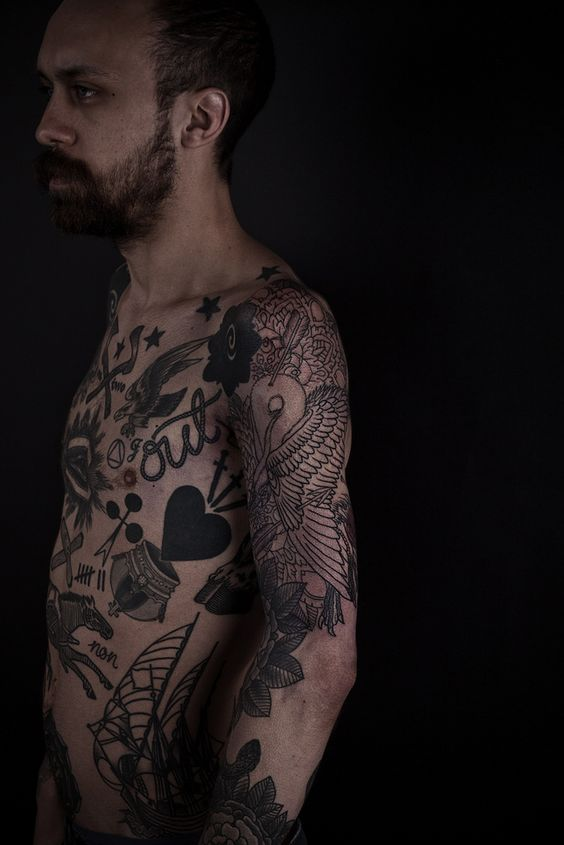 doodles.: Tattoos Body Art, Tattoos Graphic, Ink Work, Black Ink, Tattoo Ink, Goodly Tattoos