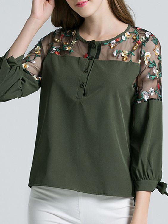 Fashionable Colorful Blouses