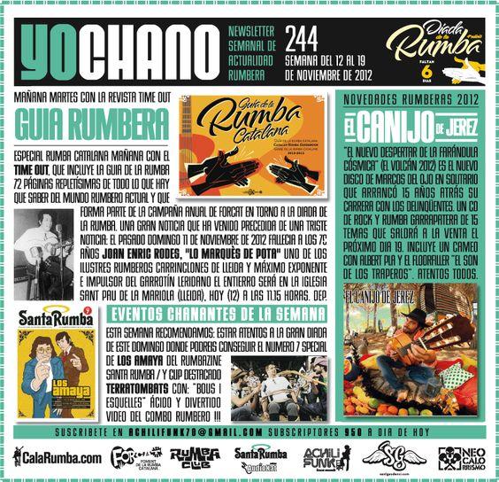SANT GAUDENCI Rumba Catalana: YOCHANO nº244