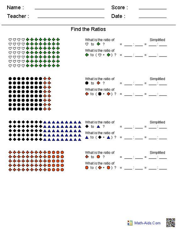 simple ratios worksheets ratios pinterest simple and worksheets. Black Bedroom Furniture Sets. Home Design Ideas