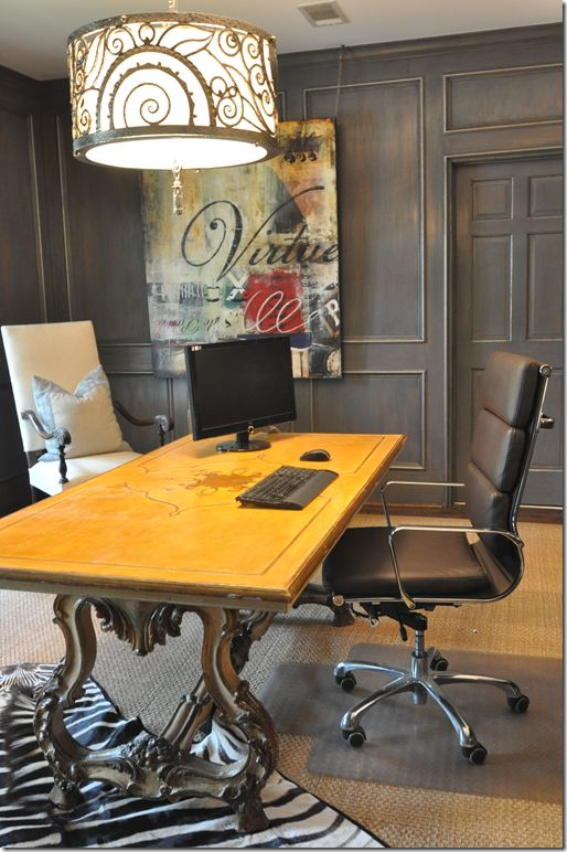 printerinks couple turn office work station into victorian organ study pinterest work stations couple and offices chesterfield presidents leather office chair amazoncouk