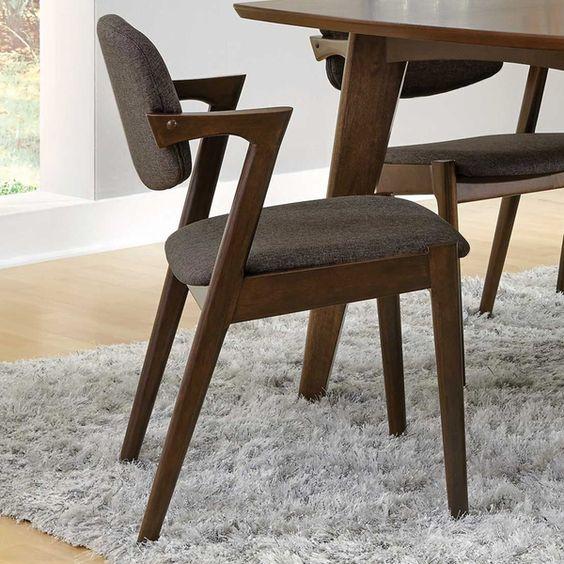 Malone Collection Sarah Side Chair Met Afbeeldingen Houten Eettafels Meubels Eettafel