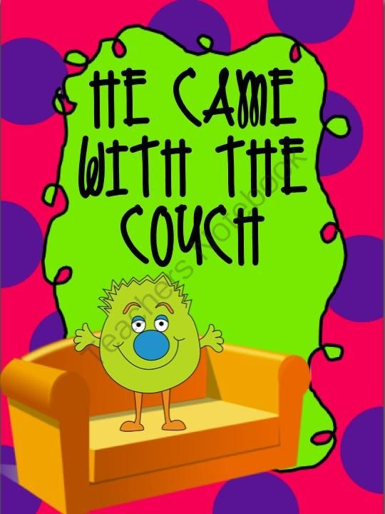 He Came With the Couch - Book Study and Literacy Unit from Sweet Integrations...With a Taste of Technology on TeachersNotebook.com -  (9 pages)