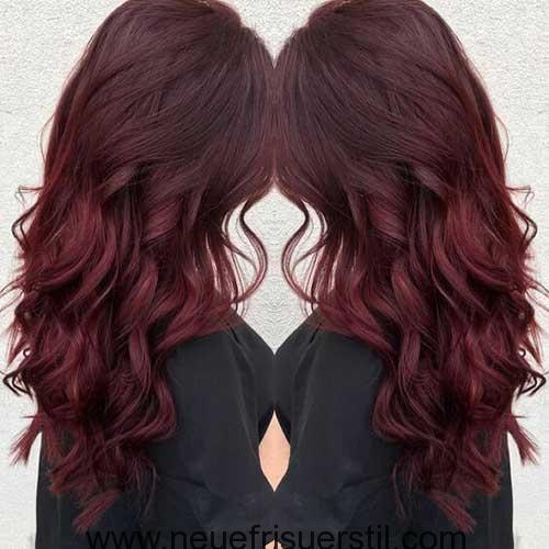 New Hairstyles 2018 Dark Red Dyed Long Hair Pictures That You Ll Love Hair Women Beauty Dunkelrotes Haar Haarfarben Lange Haare Bilder