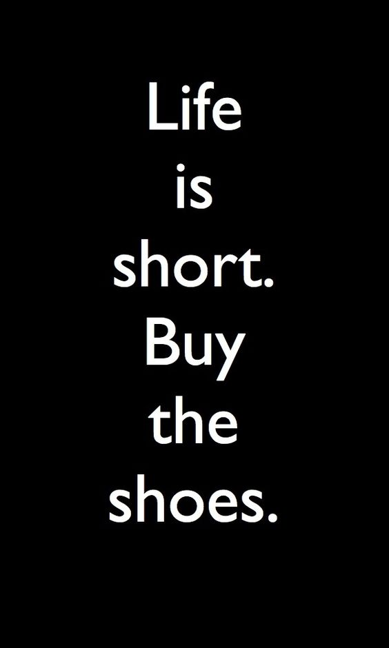 Shoes are a girls best friend :-)