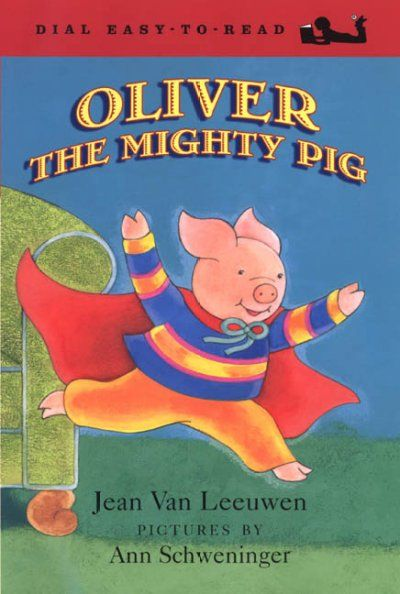 Oliver feels like the superhero Mighty Pig when he wears his Mighty Pig cape, but he finds that being a superhero in the real world has some complications.