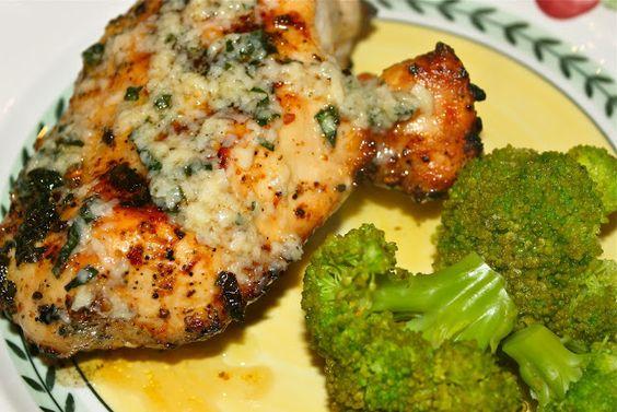 Grilled Basil Buttered Chicken and California Culinary Memories - la bella vita cucina