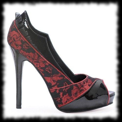 Halloween Wedding Shoes | Google Image Result for partyideasforhall...