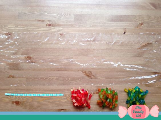 How to Braid a Gummy Worm Candy Lei — The Candy Lei