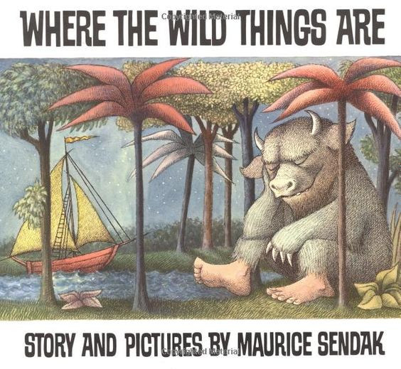 Where the Wild Things Are by Maurice Sendak #Books #Maurice_Sendak #Where_the_Wild_Things_Are