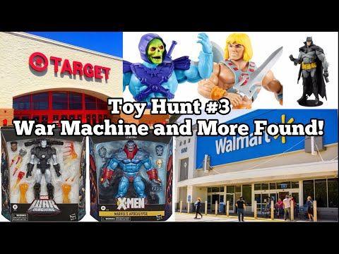 Toy Hunt 3 Marvel Legends War Machine Motu Origins And More Found Youtube War Machine Marvel Legends Target Toys