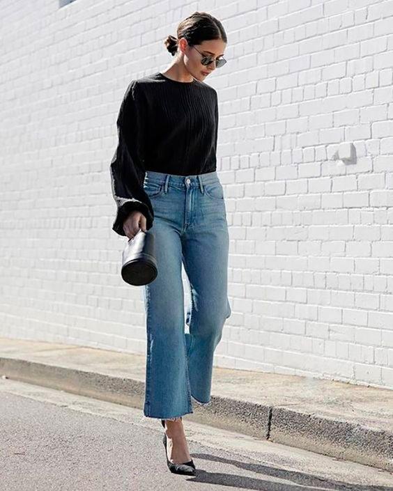 El Estilo De Denim Ultra Cool Que Está Reemplazando A Nuestros Skinny Jeans | Cut & Paste – Blog de Moda