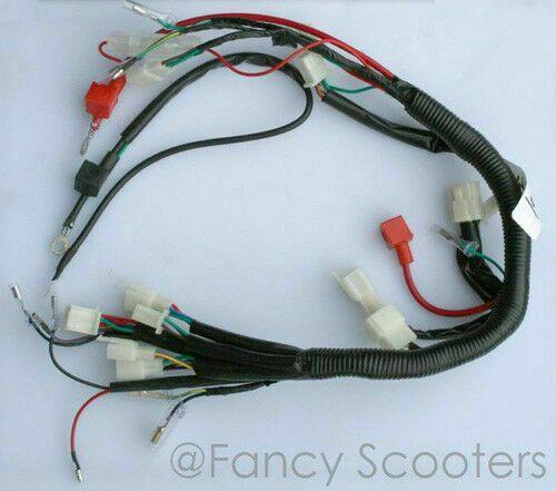 advertisement ebay) peace sports kid atv tpatv501/cpsc whole wire harness  70cc,90cc,110cc vin# l6a | kids atv, kids sports, motorcycle parts and  accessories  pinterest