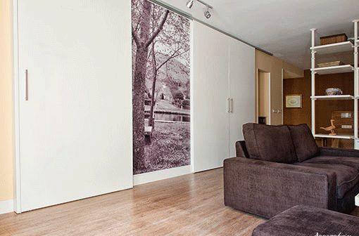 Puertas de interior decorativa para separar ambientes for Puertas para separar ambientes