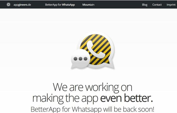 Until now the only way to use WhatsApp was by means of your smartphone or with a rather lackluster Web app on your desktop browser that provided limited functionality. BetterApp is an elegantly designed native OS X app that integrates seamlessly into your Mac's desktop environment.