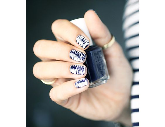 @Byrdie Beauty - Busy patterns are tempered with neutral colors.