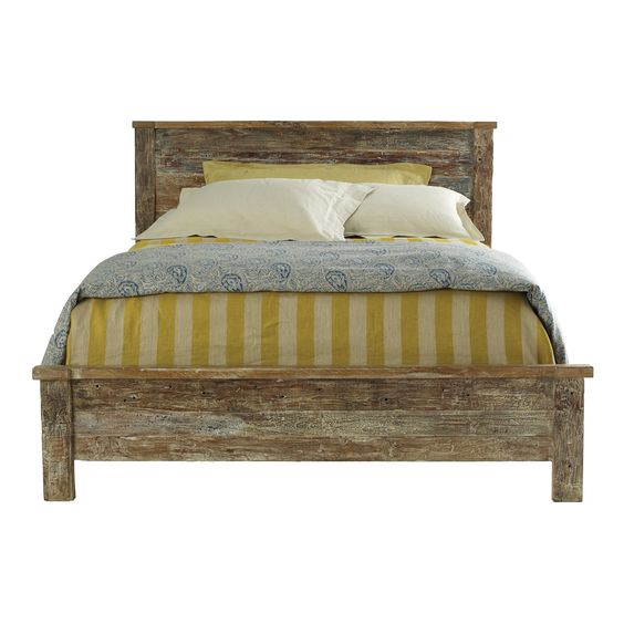 Lime wash wood bed frames and acacia on pinterest Lime washed bedroom furniture