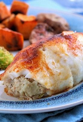 Easy baked crab stuffed tilapia recipe stuffed tilapia for Stuffed fish with crab meat