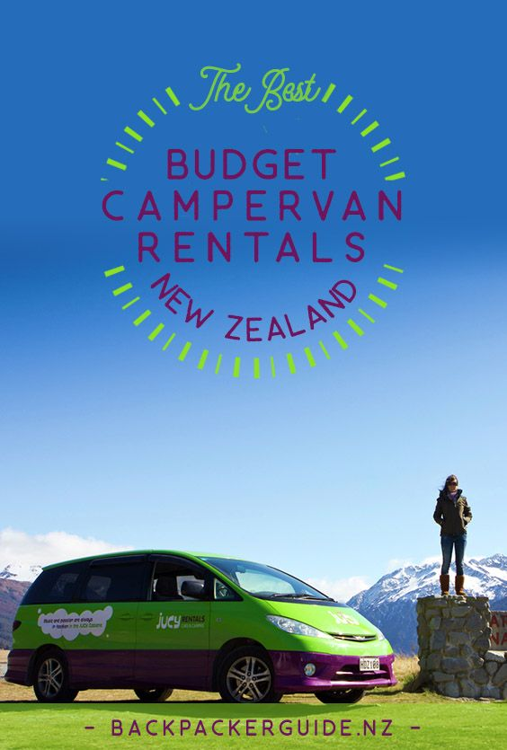 The Best Budget Campervan Rentals In New Zealand Campervan