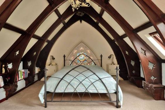 If you fancy escaping the here and now for a bit, take a trip to Lincolnshire where a converted Gothic church with its own graveyard could be yours for only £450,000.