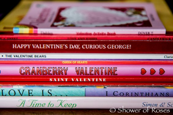 Shower of Roses: Feasts & Seasons :: Our February Book Basket