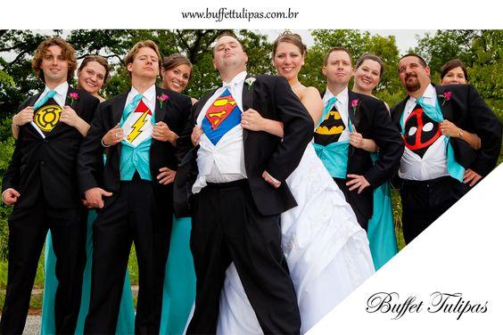 O casamento tradicional é incrível! mas que tal inovar? Faça o seu casamento temático, será além de inesquecível, muito divertido!  (11) 2076-9919  www.buffettulipas.com.br