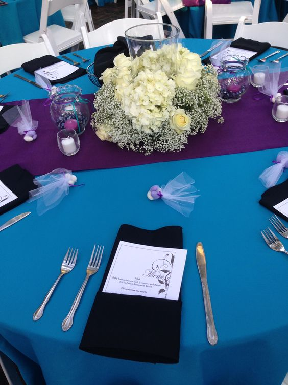 Table Décor at the Selby Gardens!
