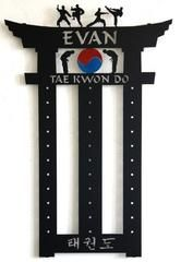 Martial Arts Belt Holder: Taekwondo Belt Display: Karate Belt Rack