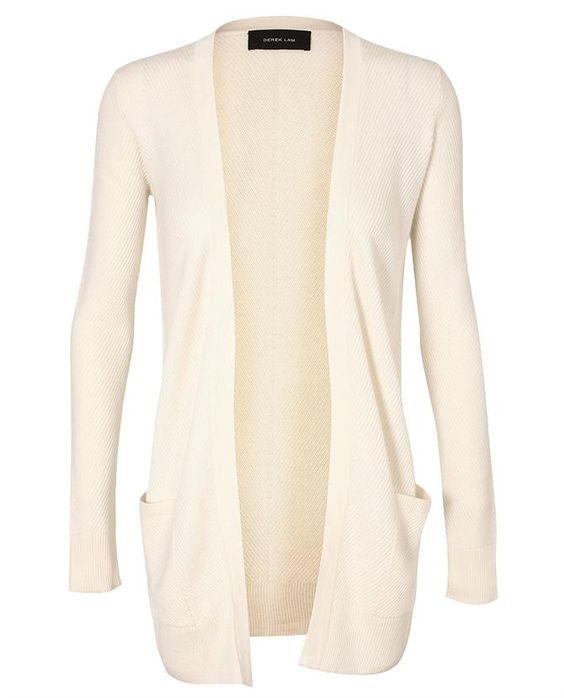 Browns fashion & designer clothes & clothing   DEREK LAM   Cashmere-silk Ribbed Cardigan