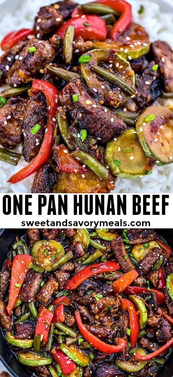 Best Hunan Beef Recipe Video Sweet And Savory Meals Recipe Beef Recipes Easy Recipes Beef Recipes