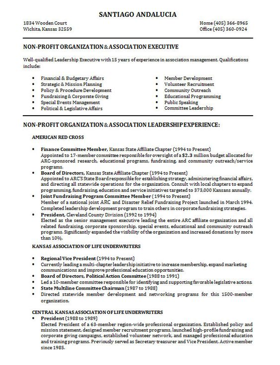 10 Samples of Professional Resume Formats You Can Use In Job ...