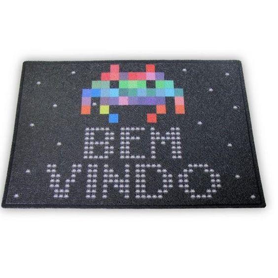 Capacho Space Invaders | Funstock Presentes Criativos