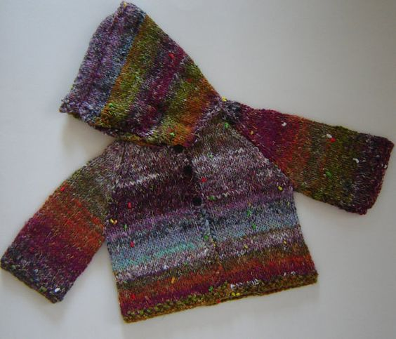 Hippie Sweater for Baby by ChickeryChick on Etsy