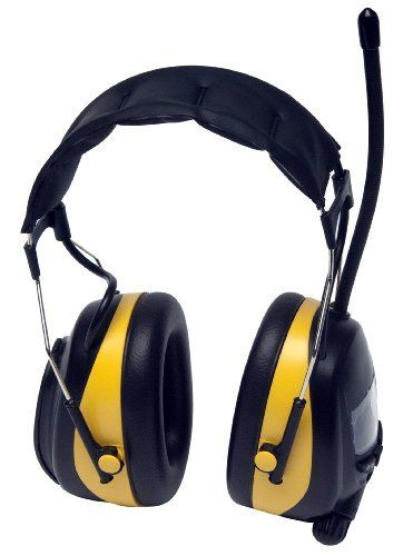 Work Hearing Protector Headphones, MP3 Compatible with AM/FM Tuner by Metro Tunes  Price : $34.99 http://www.metrofulfillmenthouse.com/Hearing-Protector-Headphones-Compatible-Metro/dp/B009EC13HE