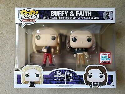 Funko Pop Buffy Faith 2 Pack 2017 Fall Convention Nycc Exclusive Vampire Slayer Afflink Contains Affiliate Link Vinyl Figures Pop Vinyl Figures Vampire Slayer