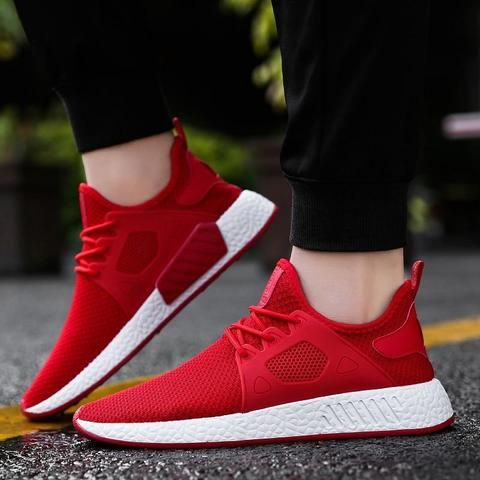 Causal Mens Sneakers Trainers Breathable Boys Joggings Gym Casual Sports Shoes