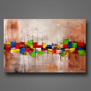 Bratis unikat acryl bilder gem lde kunst abstrakt 340 for Acrylbilder ideen