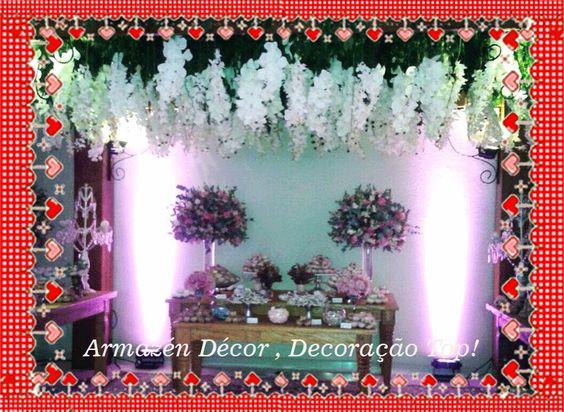 Armazén Decor , Tudo para sua Festa.  Locação de Mobiliário e Decoração Completa! Veja no Guia Novas Noivas: http://bit.ly/1JW2Jm7
