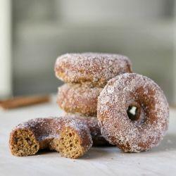 FALL BREAKFAST - baked cider doughnuts