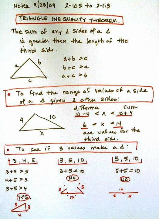 Triangle Inequality Theorem Worksheet Lovely Triangle Inequality Worksheet Triangle Inequality Inequalities Anchor Chart Learning Worksheets