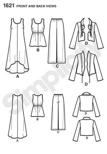 Misses' & Plus Size Dress & Separates: