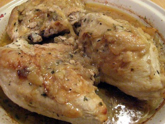 Pollo a la vinagreta