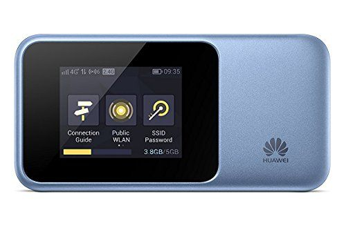 Huawei E5577s-321 Unlocked 150 Mbps 4G LTE Mobile WiFi Hotspot and port White NEW MODEL WITH EXTENDED BATTERY! 4G LTE in Europe, Asia, Middle East, Africa /& 3G globally