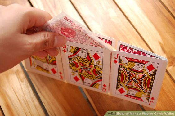 Playing Cards Wallet
