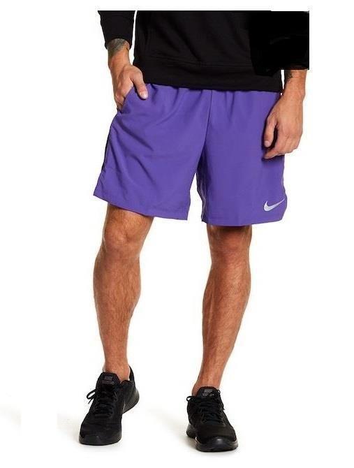 Nike Mens Lightweight Flex Challenger Shorts XL Dark Iris ...