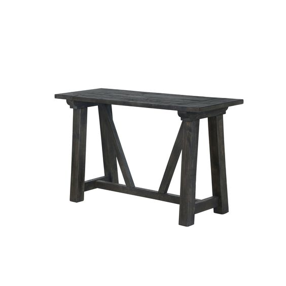 Cheap Sectional Sofas Magnussen Home Furnishings Bridgewater Charcoal Wood Rectangular Sofa Table